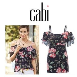 NWOT CAbi #5220 Cold Shoulder Cami Size M 8/10